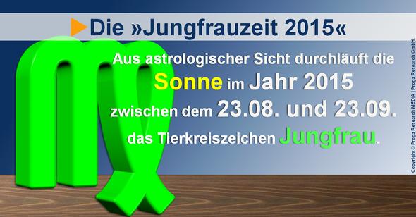 Die Jungfrauzeit 2015