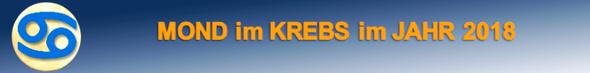 KREBSMOND im JAHR 2018.