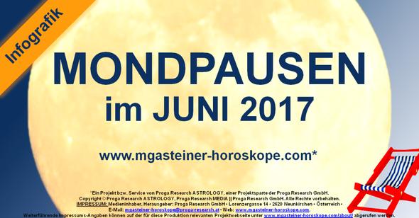 Die MONDPAUSEN im JUNI 2017