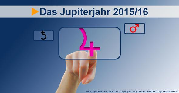 Das Jupiterjahr 2015/16