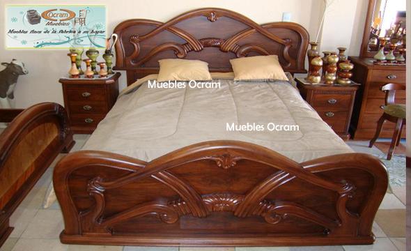 Dormitorios muebles de guatemala muebles san juan sac for Muebles tallados en madera