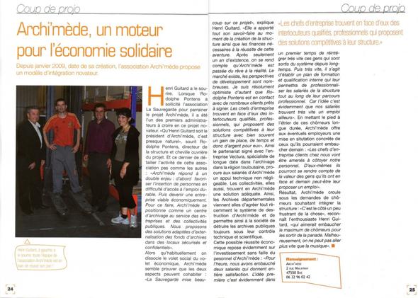 Le Quidam, janvier 2009