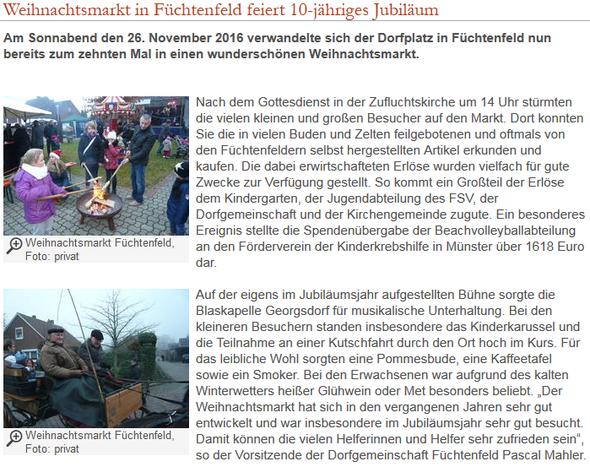 Homepage Gemeinde Wietmarschen
