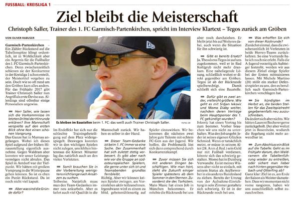 Garmischer Tagblatt vom 21.12.2016