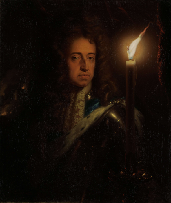 Portrait von William of Orange mit brennender Kerze (Godfried Schalcken  [Public domain] - Rijksmuseum Amsterdam - Willem III, prins van Oranje - via Wikimedia Commons)