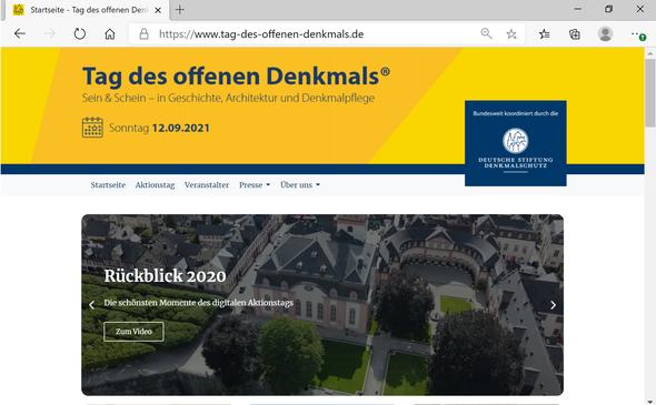 Neue Aktivitäten für den Denkmalstag planen die Aktiven in Weilburg nachdem bereits das Programm 2020 große Beachtung gefunden hat.