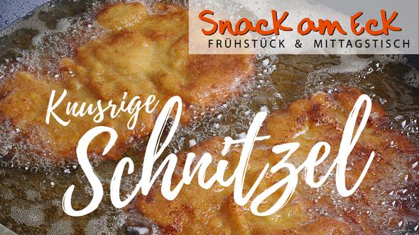Knusprige Schnitzel, Snack am Eck, Mittagstisch