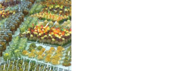 Fingerfood Büffet IHK Akademie Nov 2012 ausgeführt für 350 Personen
