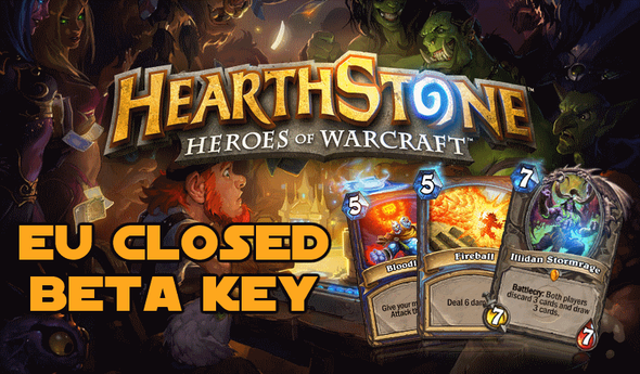 Hearthstone EU Closed Beta Key