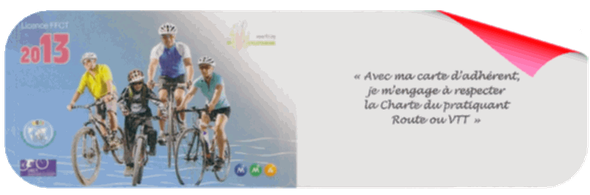 La licence de l'adhérent EdsmCyclo