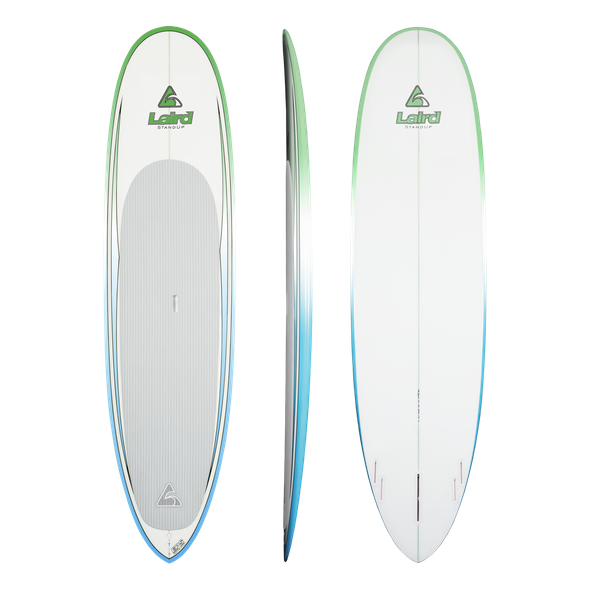 Surfer Clear Epoxy  couleur Green-White-Blue (GWB)
