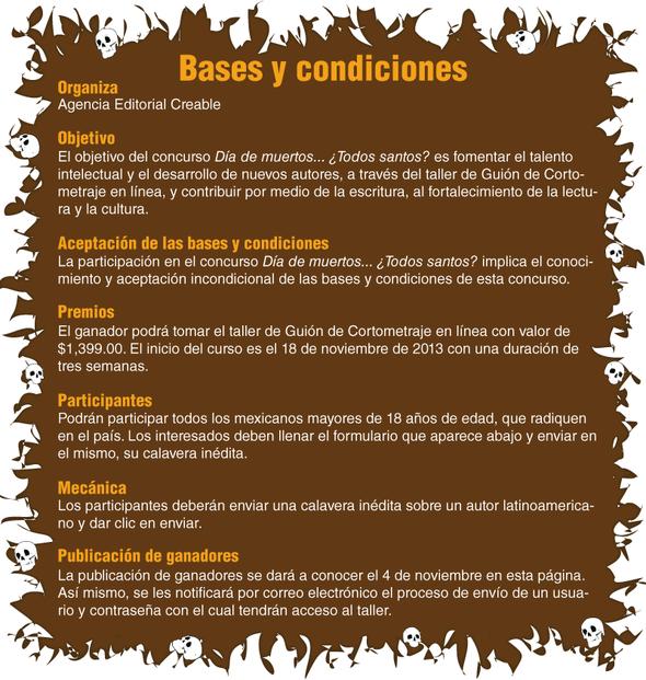 Bases y condiciones