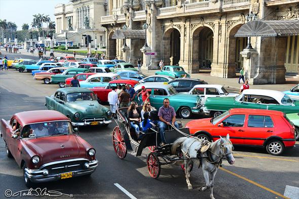 キューバ:ハバナ旧市街