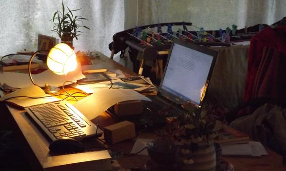 Schreibtischleben