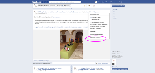 Polyplastiform integration d'articles facebook augmenter vos j'aime
