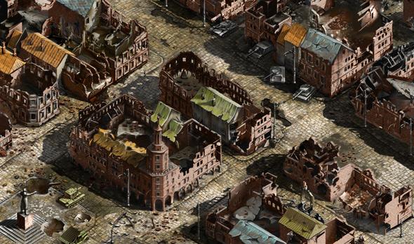 """Battlefield город 1 """"Плотный город"""" Состояние до активации секторов"""
