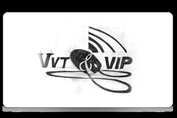 logo VVT & VIP VPI логотип ВВТ и ВИП направлений института ВПИ