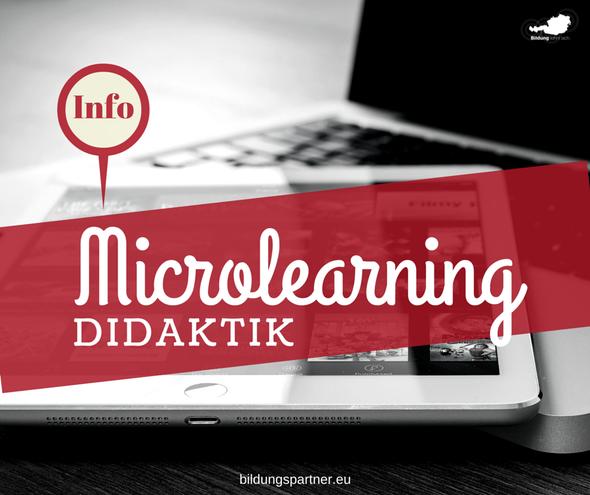 Didaktik Lernen Microlearning
