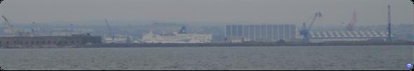 Normandy (ex Stena) en 2006 à Cherbourg (© lebateaublog)