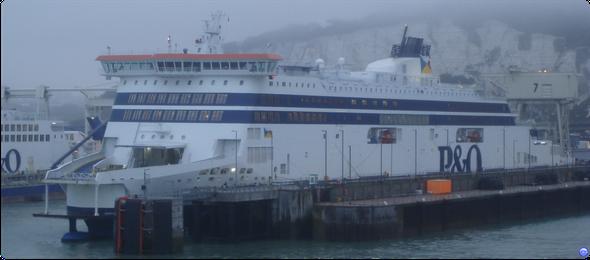 Spirit of Britain à Douvres en septembre 2011 (© lebateaublog 2011)