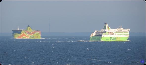 Star et Superstar dans le Golfe de Finlande (© lebateaublog 2015)