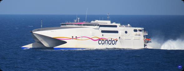 Condor Rapide en route vers Saint Malo (©lebateaublog 2019)