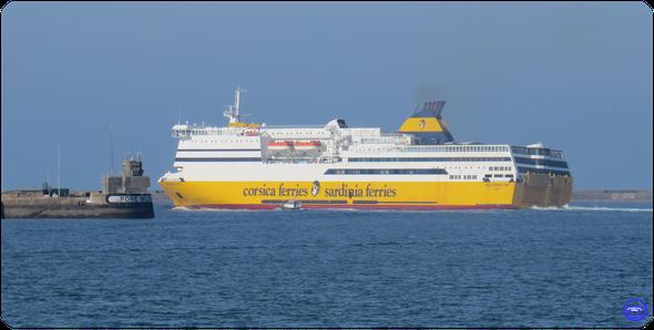 Mega Express Four affrété par Irish Ferries en 2021 (© lebateaublog 2021)