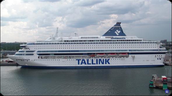 Eternel Silja Europa désarmé à Tallinn le 7 Août 2014. (© lebateaublog DC 2014)
