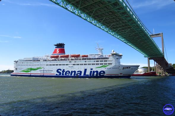 Stena Danica à Frederikshavn (© lebateaublog 2015)