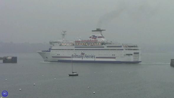 Bretagne dans la zone d'évitage de Saint Malo (© lebateaublog 2013)