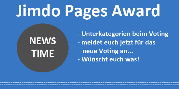 Jimdo Pages Award - Newstime