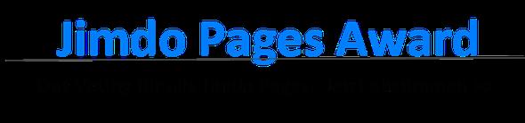 Jimdo Pages Award - Das Voting für alle Jimdo Pages. Jetzt abstimmen!