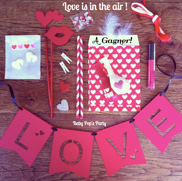 cadeau jeux concours love is in the air saint valentin day