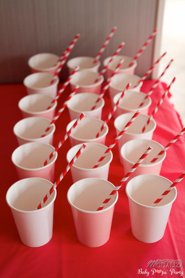 anniversaire minnie mickey disney idée thème organisation jeux enfants fille garçon rouge noir blanc pailles retro gobelet aquitaine bordeaux 33 france