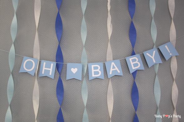baby shower fête naissance grossesse moustache movember bleu blanc gris bébé garçon boy sweet table organisation décoration baby pop's party