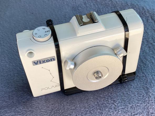 Der  Polarie (Kabelbinder und Schnellwechselplatte sind optional)