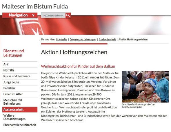 Treue Gefährten aus alter Zeit.. das Bistum Fulda seit vielen Jahren dabei...