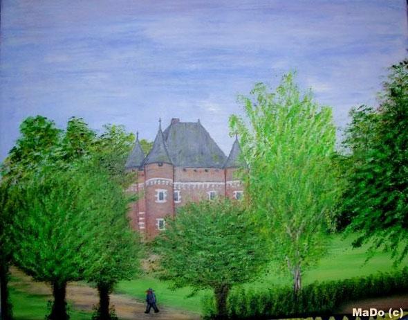 Château d'Argueil (septembre 2010) Copyright MaDo