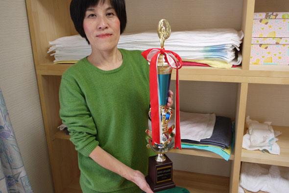 高知県発明くふうコンクールにて高知県商工会連合会会長賞を受賞しました。