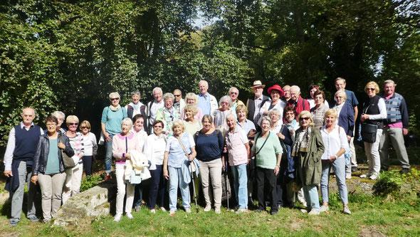 Die Reisegruppe an Rhein und Mosel   Foto: Hasko Froese