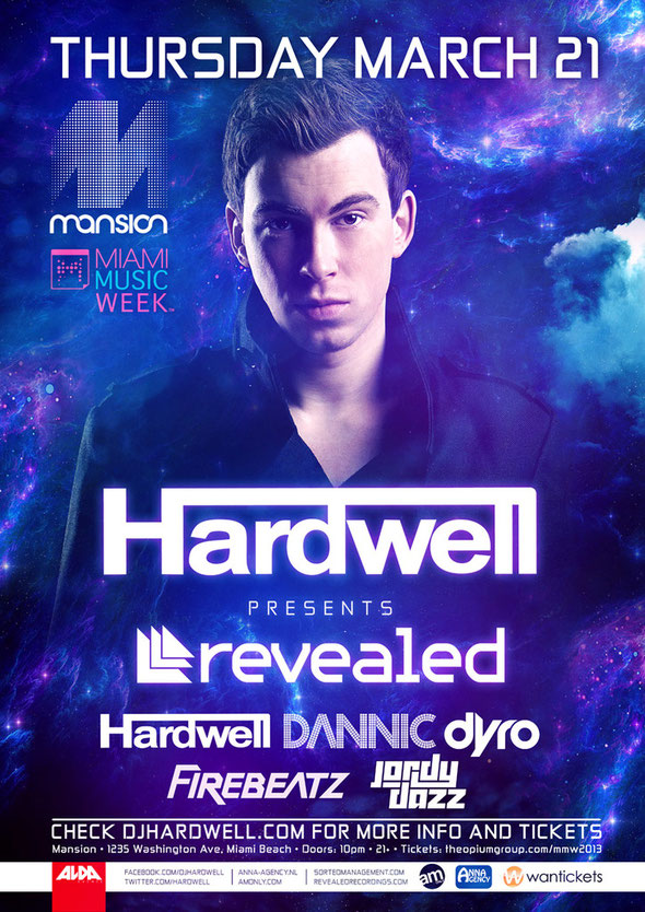 Hardwell | Revealed Miami
