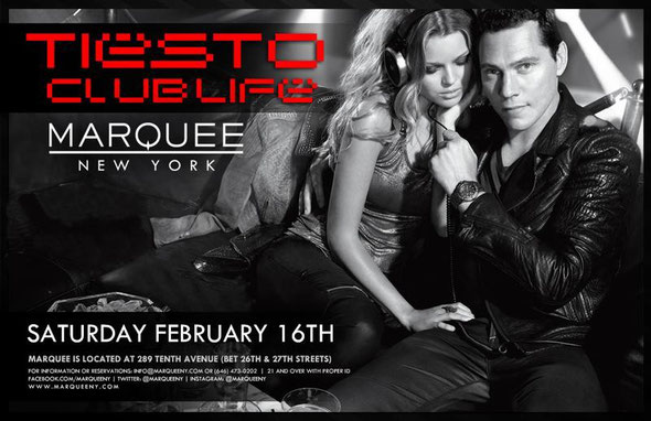 Marquee New York | Tiesto