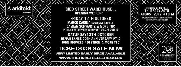 Gibb Street Warehouse