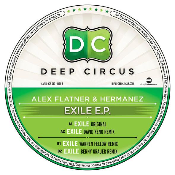 Alex Flatner & Hermanez | Exile EP