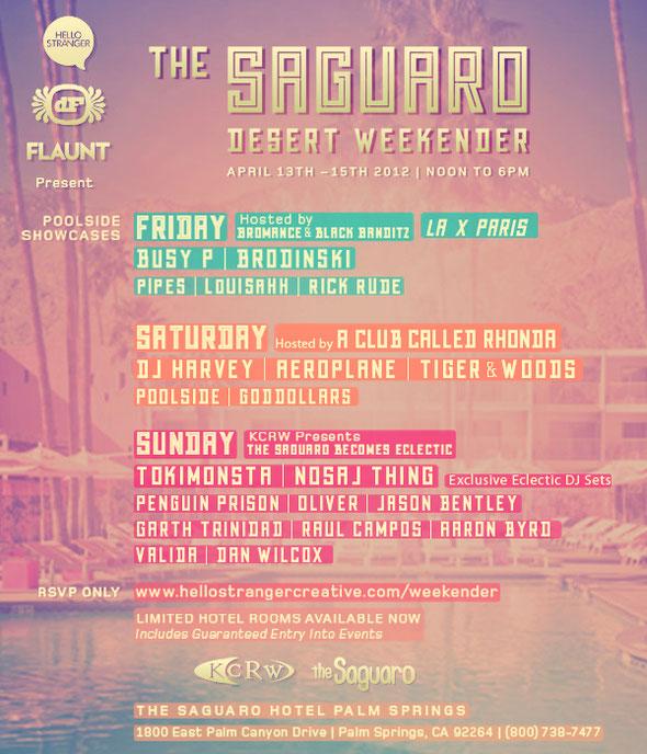 The Saguaro Desert Weekender