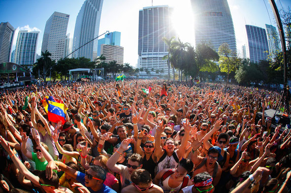 Ultra Music Festival - image courtesy of http://digitalgoldphotography.com