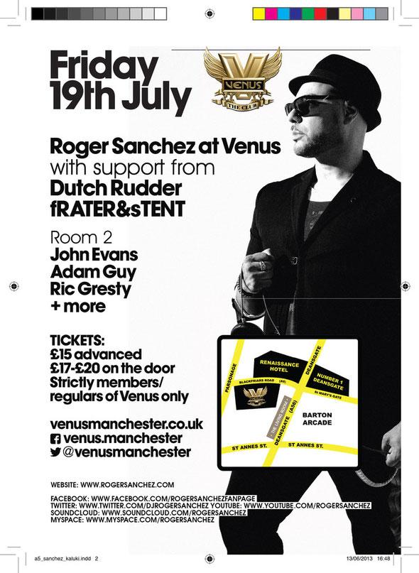Roger Sanchez | Venus