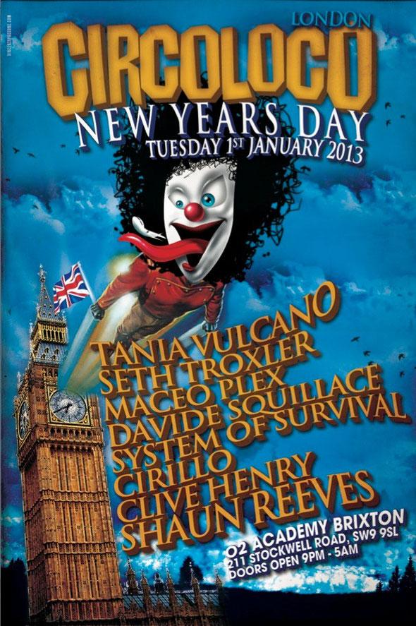 Circo Loco New Year's Day