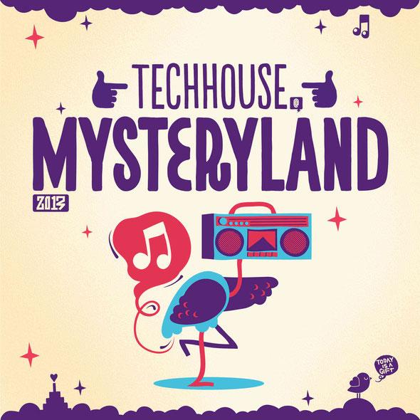 Tech House @Mysteryland