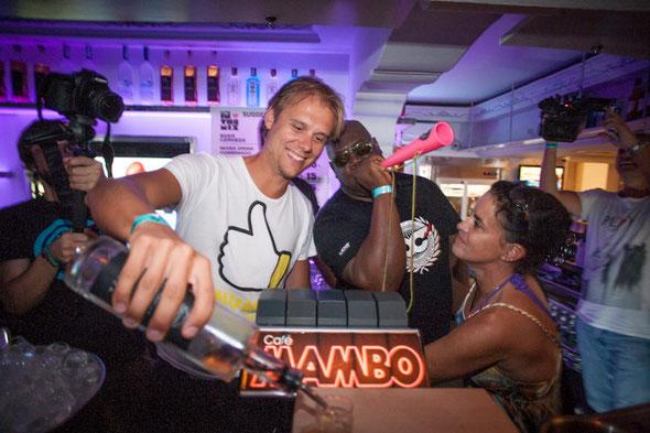 Armin van Buuren & Carl Cox | Cafe Mambo
